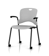 Caper Stacking Chair with Arms