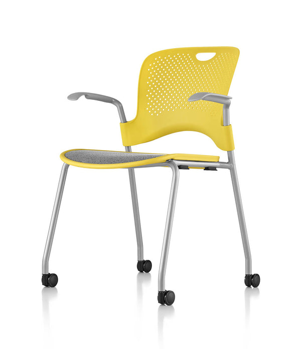 Caper® Stacking Chair with Arms