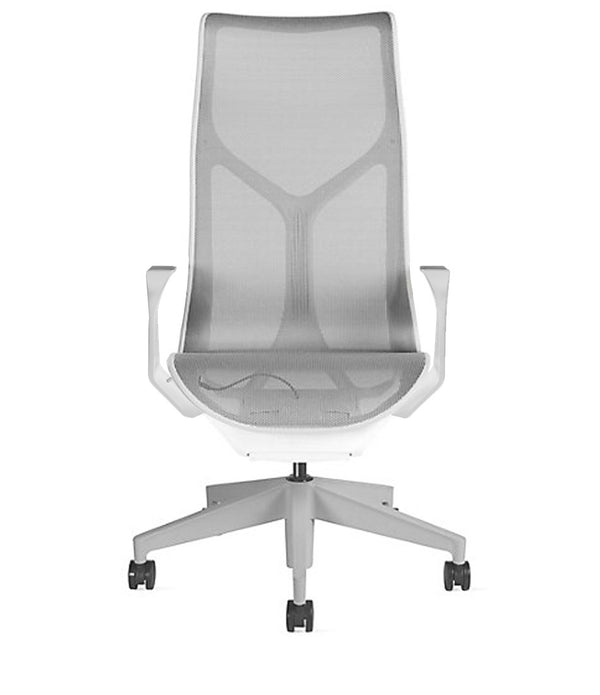 High-Back Cosm Chair Studio White