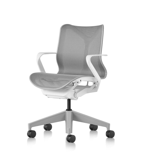 Low-Back Cosm Chair Studio White