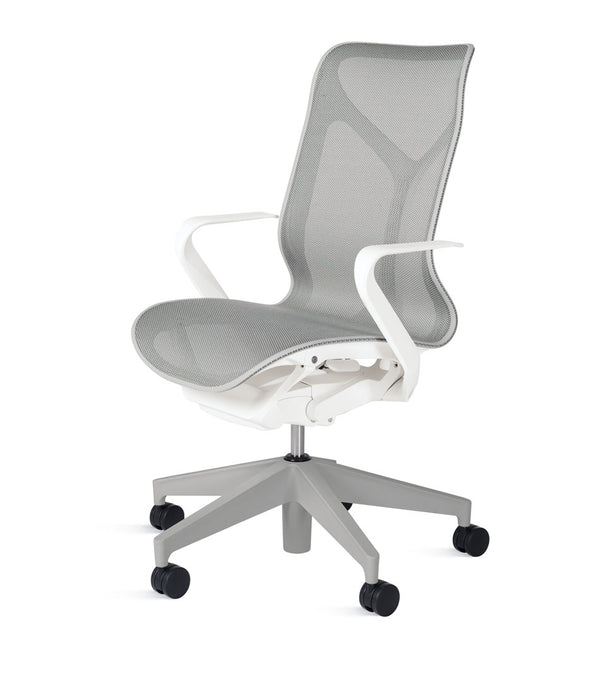 Mid-Back Cosm Chair Studio White