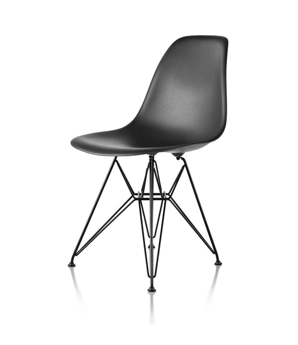 Eames® Molded Plastic Side Chair, Wire Base