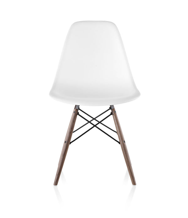 Eames® Molded Plastic Side Chair, Dowel Base