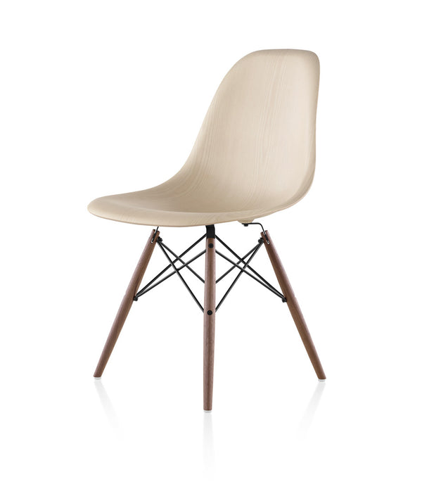 Eames® Molded Wood Side Chair, Dowel Base