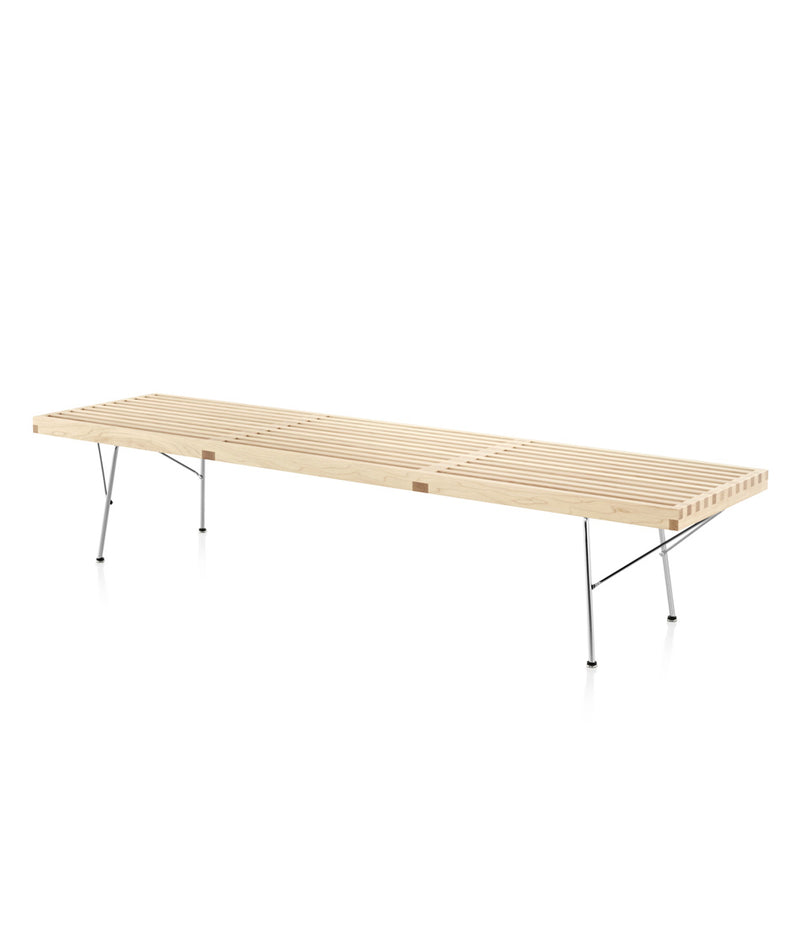 Nelson® Platform Bench - Chrome Base