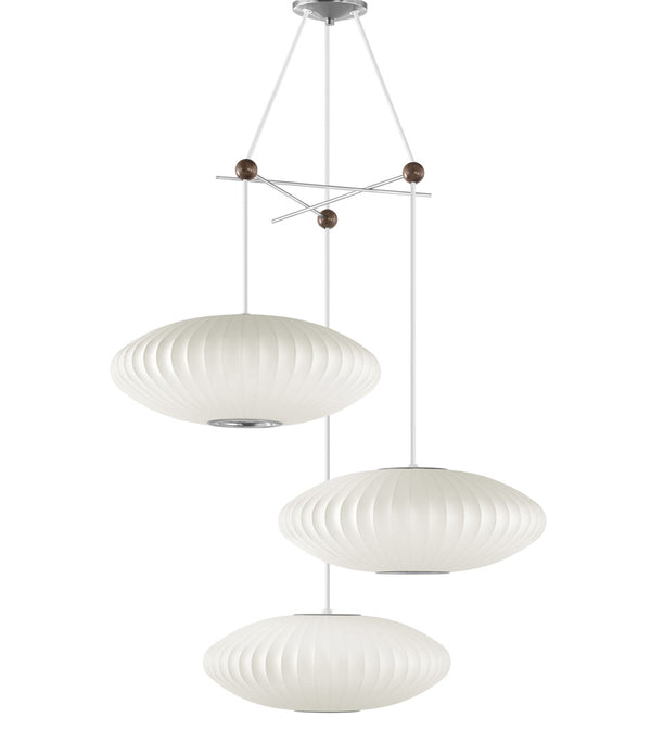 Nelson Triple Bubble Lamp Fixture (Fixture only)