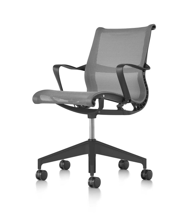Setu Chair - Graphite with Arms