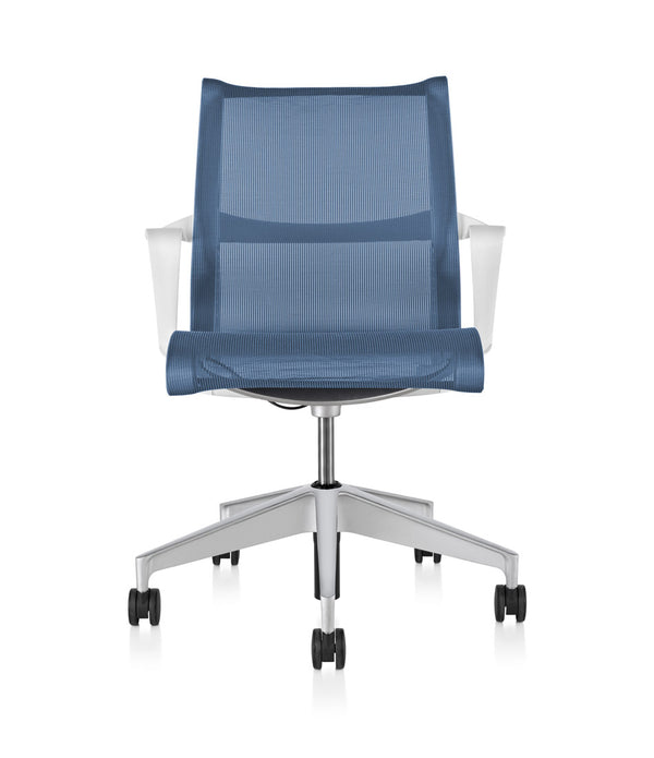 Setu Chair - Studio White with Arms