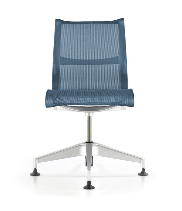 Setu Chair - Studio White with No Arms