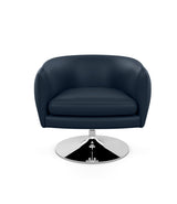 D'Urso Swivel Chair - Leather