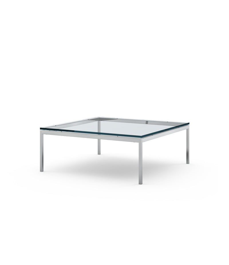"Florence Knoll Low Coffee Table - 35"" x 35"""