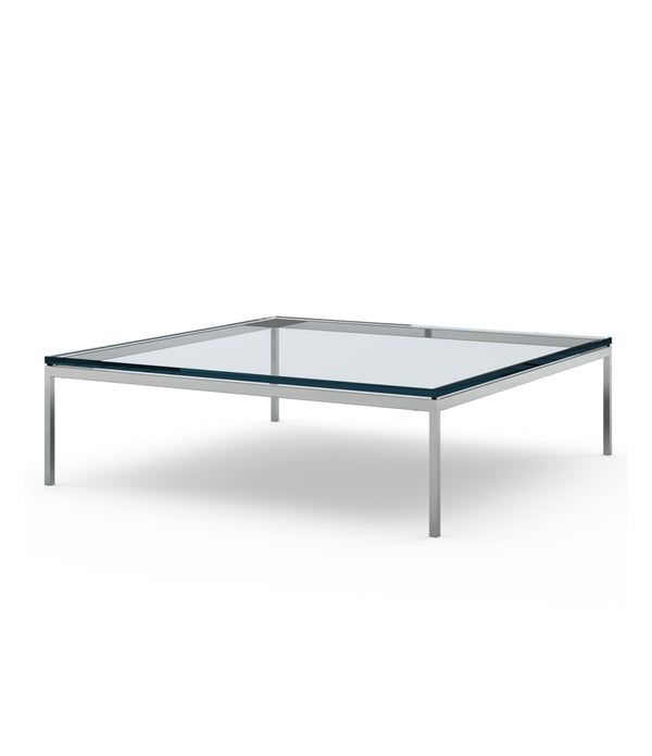 "Florence Knoll Low Coffee Table - 47"" x 47"""