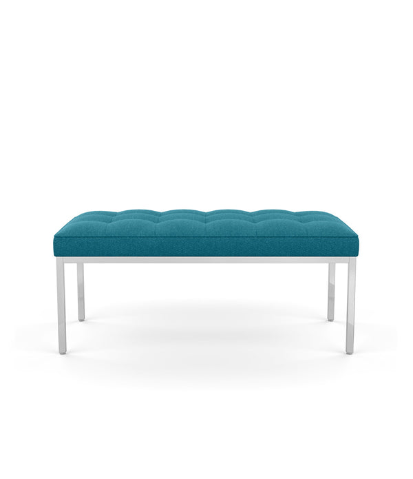 Florence Knoll Relaxed Bench Two and Three Seat - Fabric