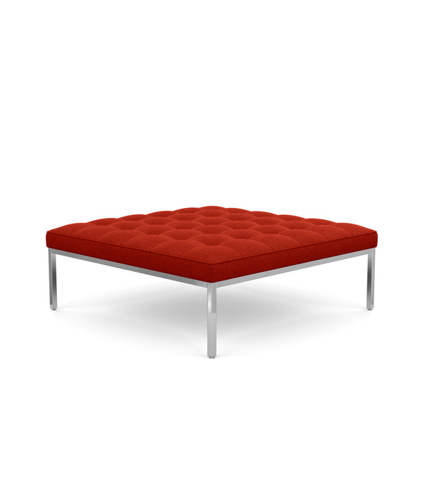"Florence Knoll Square Relaxed Fabric Bench 37"" - 56"""