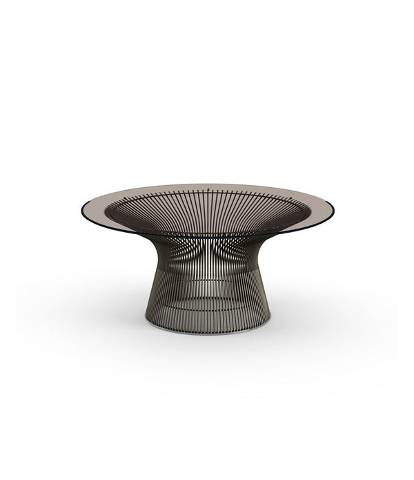 "Platner Metallic Bronze Coffee Table 36"" - 42"""