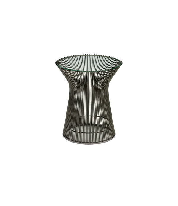Platner Metallic Bronze Side Table