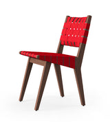 Risom Side Chair with Webbed Seat and Back