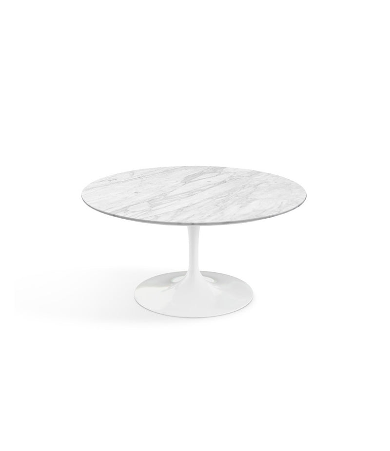 Saarinen Round Coffee Table - White Base