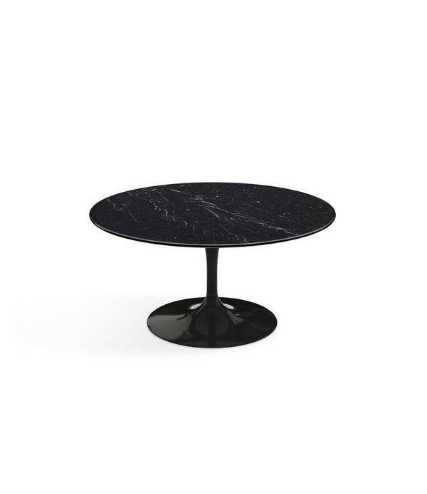 Saarinen Round Coffee Table - Black Base
