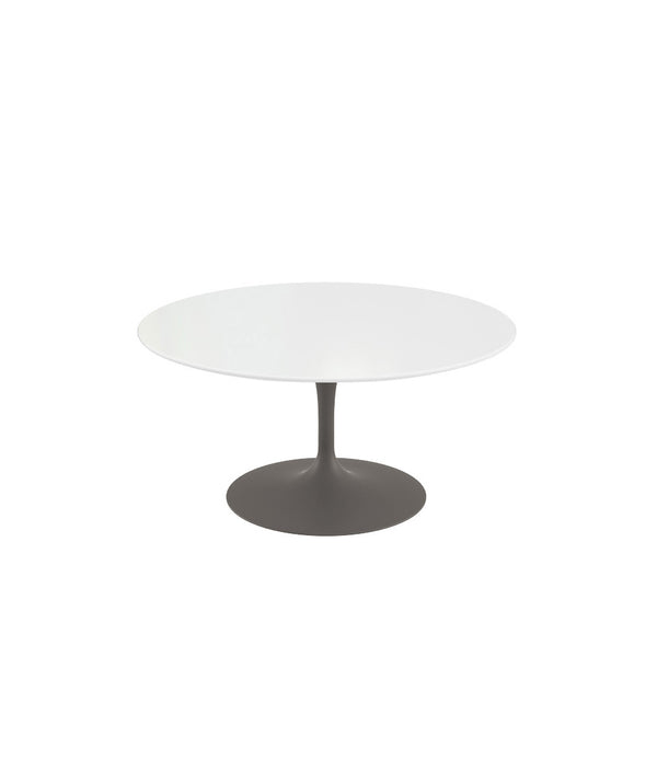 Saarinen Round Coffee Table - Grey Base