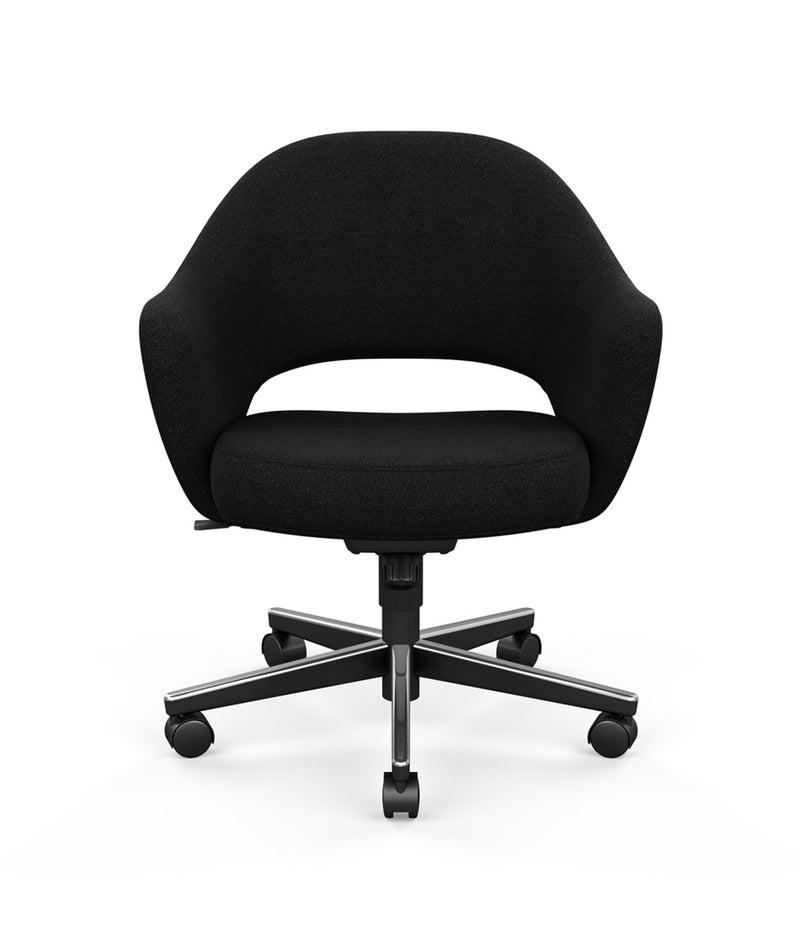 Saarinen Executive Chair With Casters - with Arms