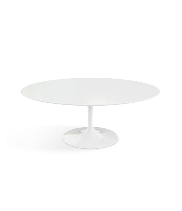 Saarinen Oval Coffee Table - White Base