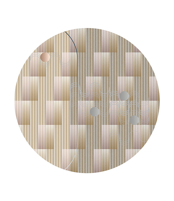 Swell Round Area Rug