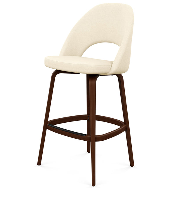 Saarinen Executive Stool, Bar Height - Fabric