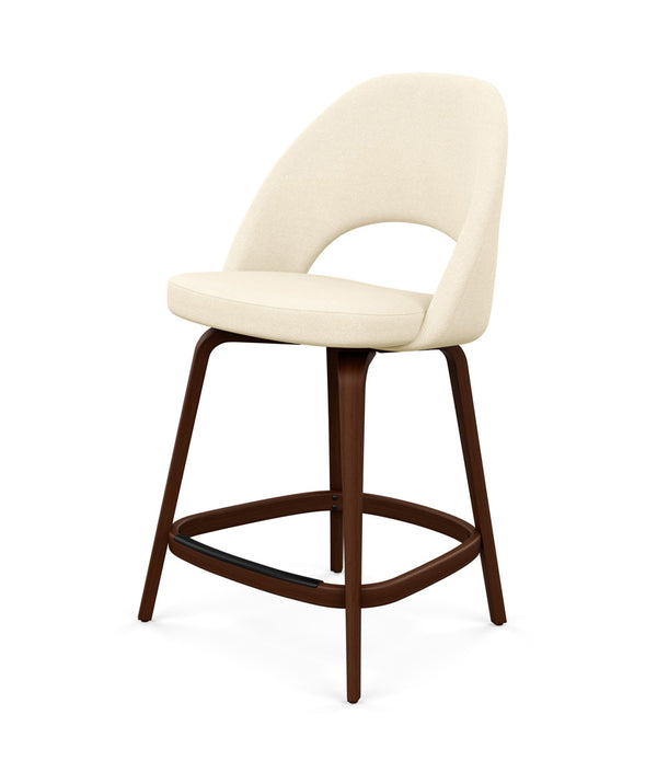 Saarinen Executive Stool, Counter Height - Fabric