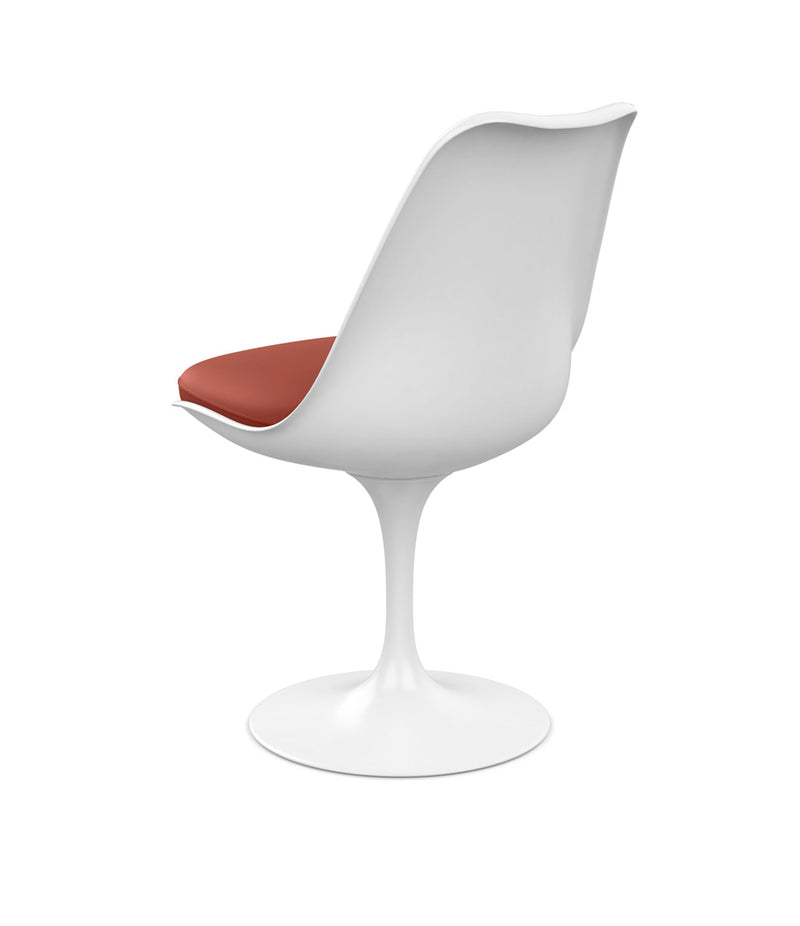 Saarinen Tulip Armless Chair - Leather