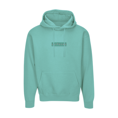 Surfaces Monochrome Green Hoodie