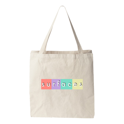 Surfaces Box Logo Tote Bag