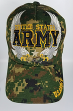 Load image into Gallery viewer, U.S. Army Green w/Wings