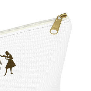Accessory Pouch w T-bottom HULA STRONG Girl 02