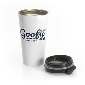Stainless Steel Travel Mug Goofy Cafe + Dine