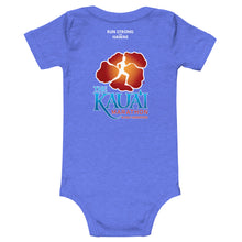 Load image into Gallery viewer, Baby Bodysuits Kauai Marathon Front & Back printing (Logo White)