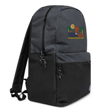 Load image into Gallery viewer, Embroidered Champion Backpack Aloha Saturday Run