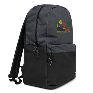 Embroidered Champion Backpack Aloha Saturday Run