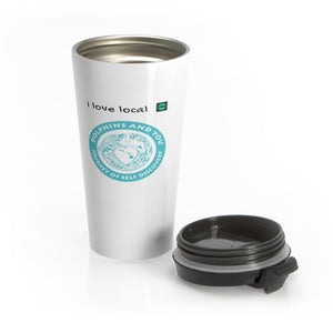 Stainless Steel Travel Mug Dolphin and You