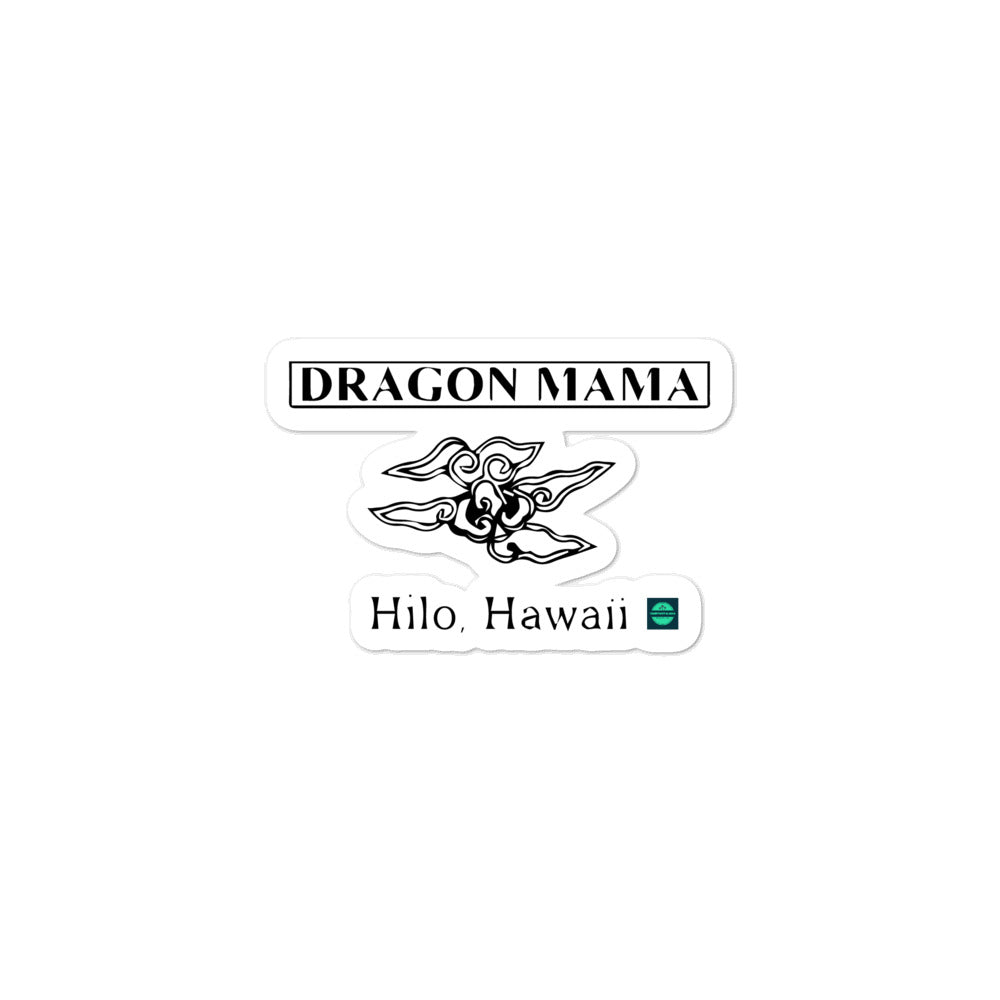 Bubble-free stickers Dragon Mama Futon Shop