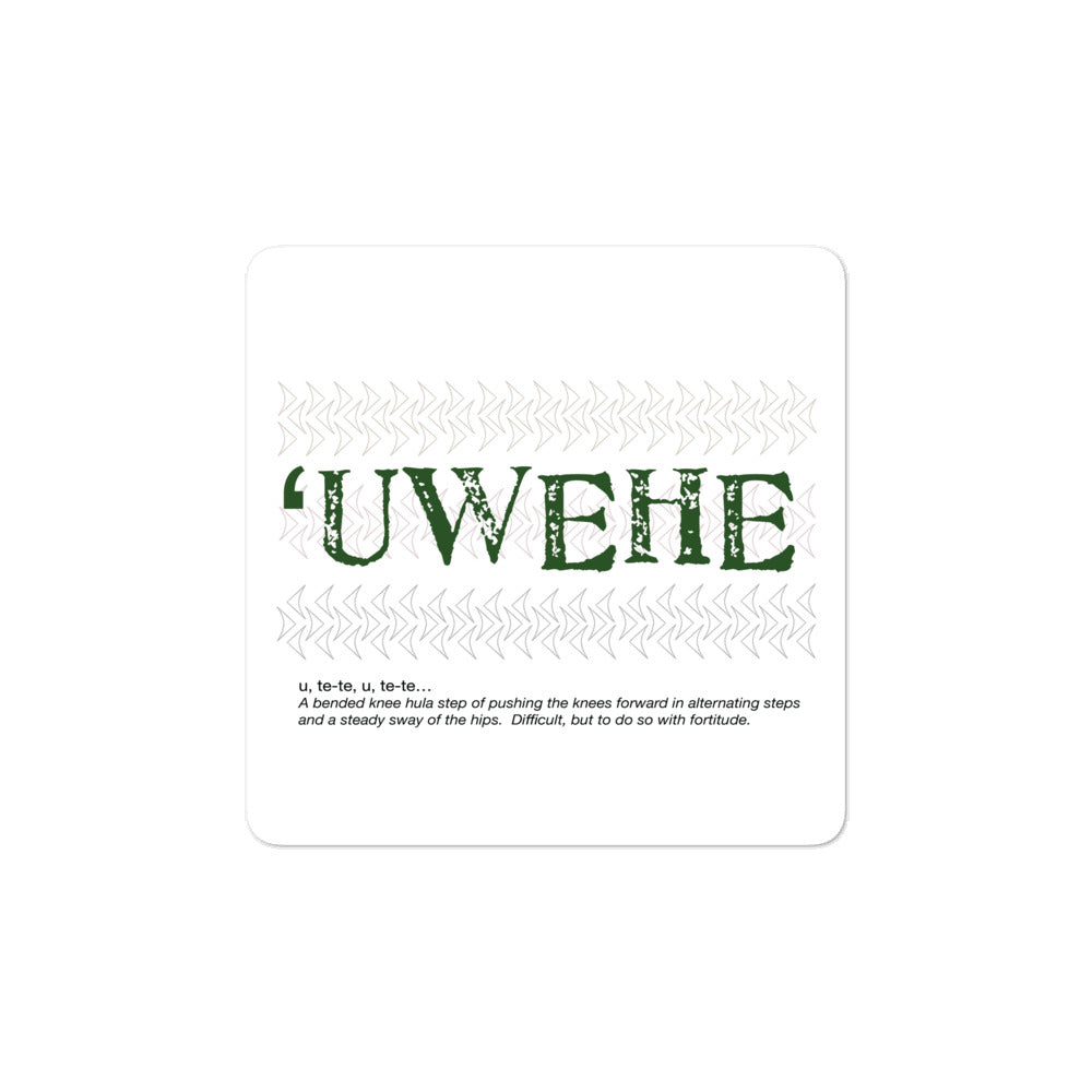 Bubble-free stickers UWEHE 01