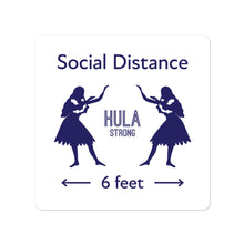 Load image into Gallery viewer, Bubble-free stickers HULA STRONG Girl #3 (Social distance)
