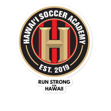 Load image into Gallery viewer, Bubble-free stickers Hawaii Soccer Academy