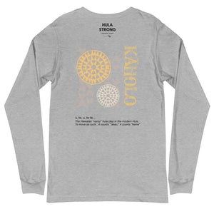 Unisex Long Sleeve Tee KAHOLO Front & Back printing