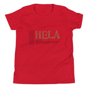 Youth Short Sleeve T-Shirt HELA