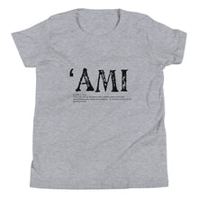 Load image into Gallery viewer, Youth Short Sleeve T-Shirt AMI Front & Back printing