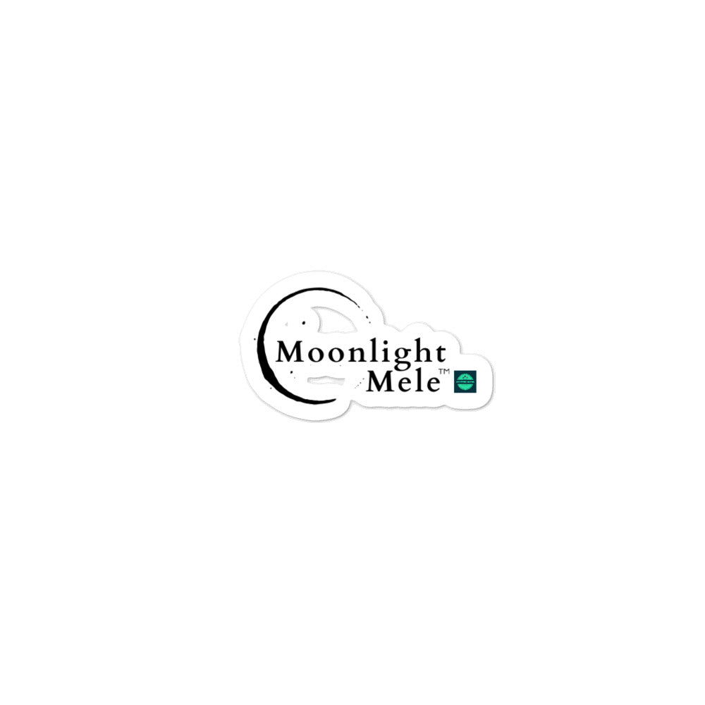 Bubble-free stickers Moonlight Mele