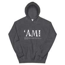 Load image into Gallery viewer, Unisex Hoodie AMI Front & Back printing Logo White
