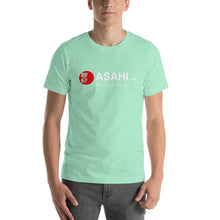 Load image into Gallery viewer, Short-Sleeve Unisex T-Shirt ASAHI Grill Logo White