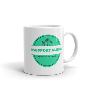 Mug # SUPPORT ALOHA Series Palm Tree